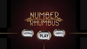 Number Rhumbus Title Screen